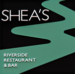 Shea's Riverside Restaurant & Bar Logo